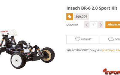 Oferta de lanzamiento Intech BR6 2.0 en Repuestos RC