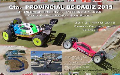 Este finde: Segunda prueba del Campeonato de Cadiz 1/8 TT-E