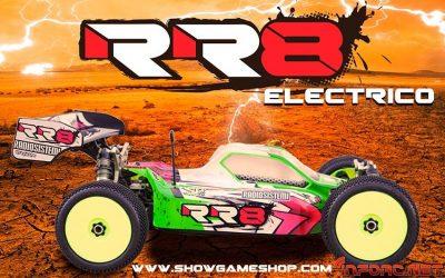 Nuevo Radiosistemi RR8 eléctrico, para los amantes del brushless