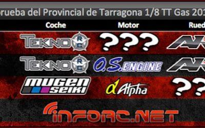 Crónica: Tercera prueba provincial Tarragona 1/8 TT Gas 2015