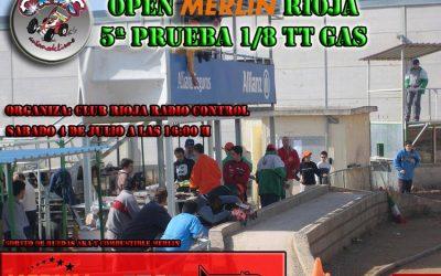 Este finde: Open Merlin Fuel en La Rioja