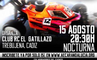 15 de Agosto: Carrera nocturna en Trebujena, Cádiz