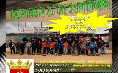 Domingo 27 - Ultima prueba provincial Castellon 1/8 TT Gas y eléctrico