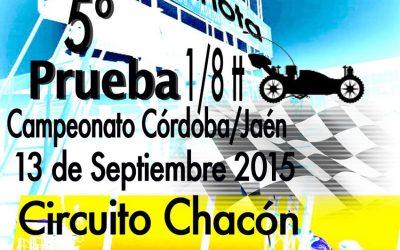 13 de Septiembre - 5ª prueba del Campeonato Córdoba-Jaén 1/8 tt gas 2015