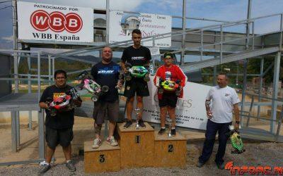 Resultados:  Ultima prueba del Campeonato de Castellón 1/8 TT Gas 2015