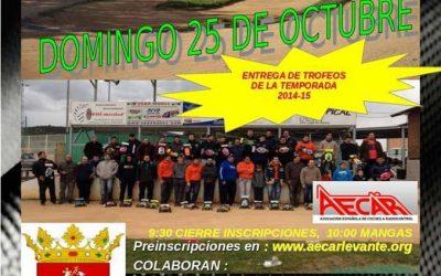Domingo 25 - Primera prueba del Provincial 1/8 TT Gas 2015-16 en Castellón