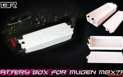 Mugen MBX7R - Caja de baterías por TBR