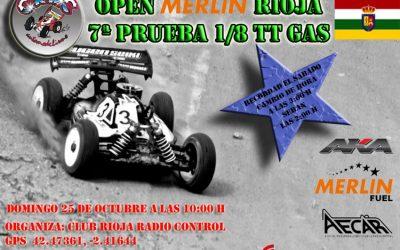 Domingo 25 - 7ª prueba del Open Merlin La Rioja