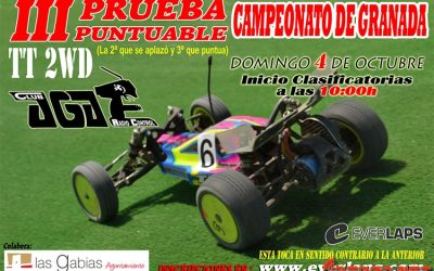 Este Domingo: Tercera prueba del Camp. de Granada 1/10 2WD