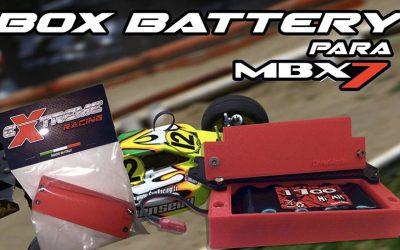 Showgame - Caja de baterías Mugen MBX7