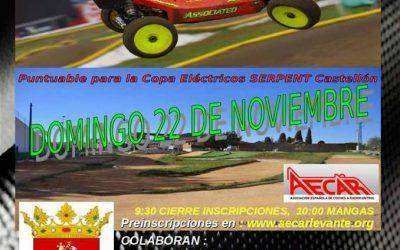Este Domingo - Segunda prueba del Provincial de Castellón 1/8 TT Gas y Eléctrico