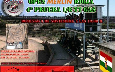 Este finde - Cuarta prueba del Open Merlin La Rioja