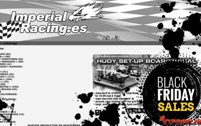 Black friday, también en Imperial Racing. ¡12% de descuento!