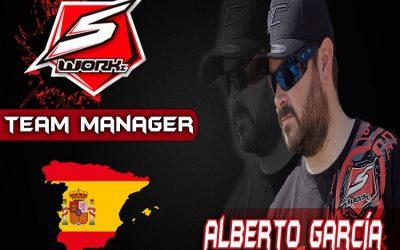 Alberto García, nuevo Team Manager de SWorkz España