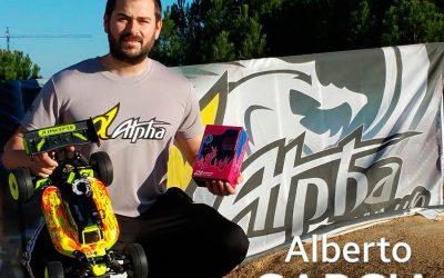 Alberto García ficha por motores Alpha