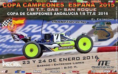 Este fin de semana: Copa de Campeones de España 2015 en Club El Estrecho