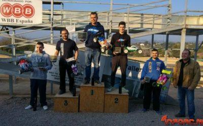 Resultados - Primera prueba Cto Levante 1/8tt Eco 2016