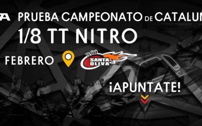 21 de Febrero - Primera prueba Campeonato de Cataluña 1/8 TT Gas 2016