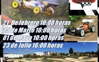 21 de Febrero - Primera prueba del Campeonato Ciudad de Miranda 1/8 TT Gas 2016