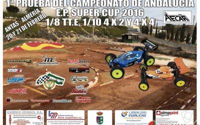 21 y 22 de Febrero - Comienza la EP Supercup en Andalucía