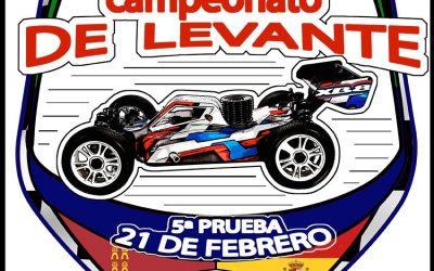 Este finde -  5ª prueba del campeonato de levante Cobatillas