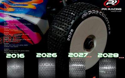 PR Racing presenta su gama de neumáticos para 1/8 TT