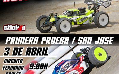 3 de Abril - Primera prueba del Provincial de Sevilla 1/8 TT Gas y Eco