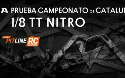 20 de Marzo - Segunda prueba del Campeonato de Cataluña 1/8 TT Gas 2016