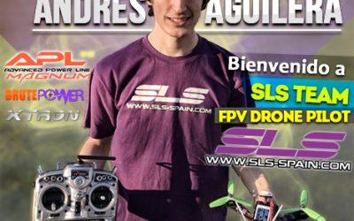 Andrés Aguilera, piloto SLS, presente en la World Drone Prix 2016 de Dubai