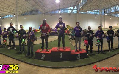 Robert Batlle, ganador de la primera prueba del Campeonato de España 1/8 Eco 2016 en RBR36 Arena