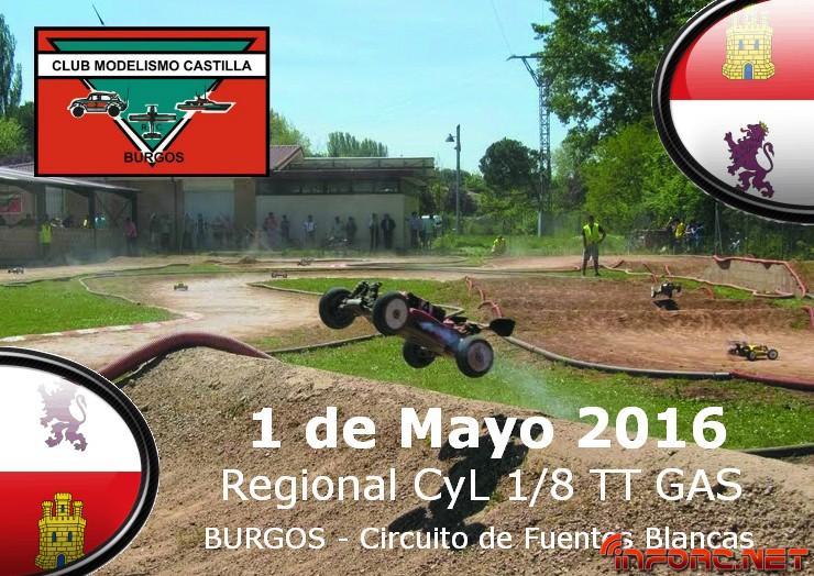 Cartel Regional 2016 - Burgos CMC 2