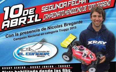 10 de Abril - Segunda fecha del Campeonato Mendocino 1/8 TT 2016