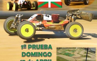 17 de Abril - 1ª prueba cto social de Euskadi 1/8 TT Gas 2016