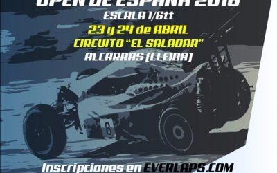 23 y 24 de Abril - 1ª Prueba Open de España 2016 Gran Escala – Alcarràs