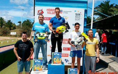 Cristian Artiles vence la cuarta prueba del Winter Series 1/8 TT GAS 2016