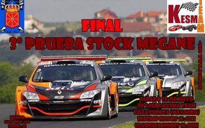 28 de Mayo - Tercera prueba stock megane miniz en Club 948rc
