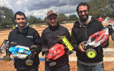 Jaume Figuls TQ en las mangas del Nacional 1/8 TT Eco en Mallorca