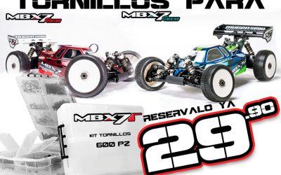 Showgame - Kit de tornillería completo para Mugen MBX7R y Agama