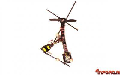 Vídeo - el dron más sencillo del mundo solo tiene una parte móvil