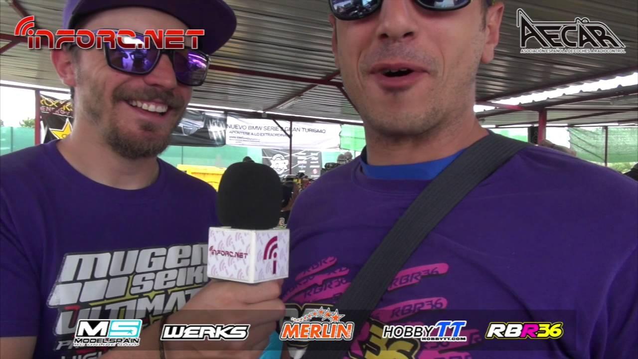 Video - Paseo por el paddock del Club ARCEA. Campeonato de España A 1/8 TT Gas
