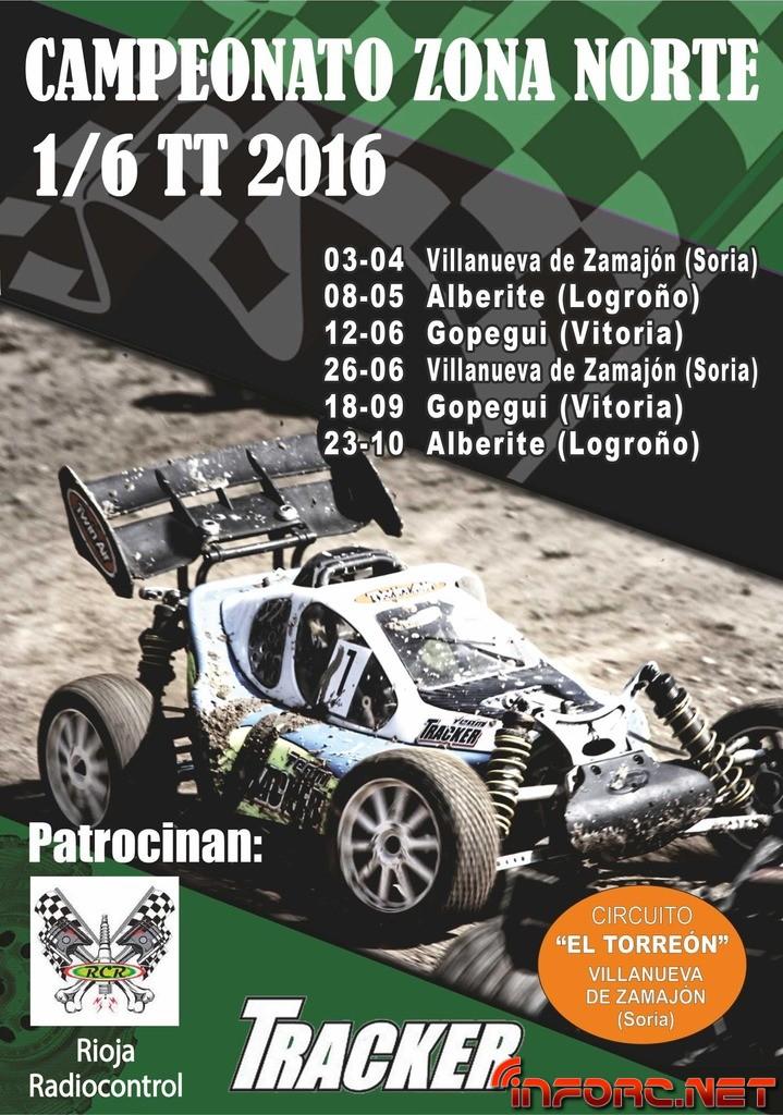 CARTEL ZONA NORTE 1-6TT 2016