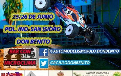 25 y 26 de Junio - Cuarta prueba Camp. de Extremadura 1/8 TT Gas