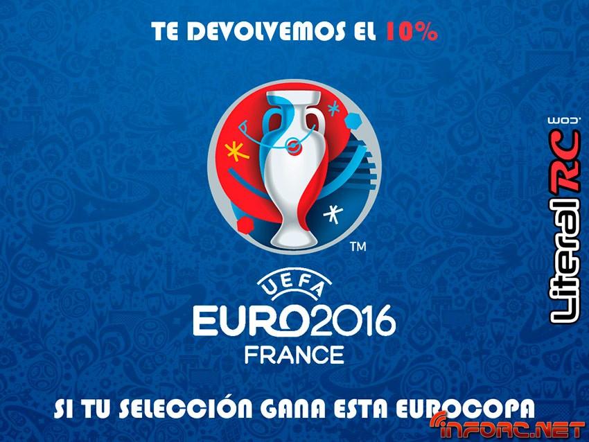 Literal RC - Apuesta por tu selección en la Eurocopa y llévate un 10% de descuento