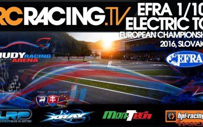 Video en directo - Campeonato de Europa pista 1/10 Eco