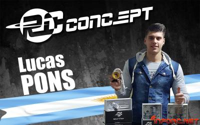 RC Concepts se extiende a Latinoamérica y ficha a Lucas Pons
