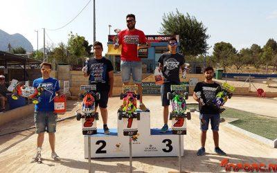 Resultados - 6º prueba Campeonato de Levante 1/8 TT gas - La Nucia