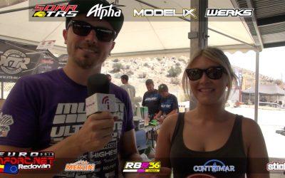 Video - Paseo por el paddock con Robert Batlle en el Euro A 1/8 TT Gas 2016