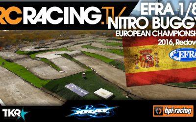Video en directo - Penultimo día del Campeonato de Europa A 1/8 TT Gas 2016