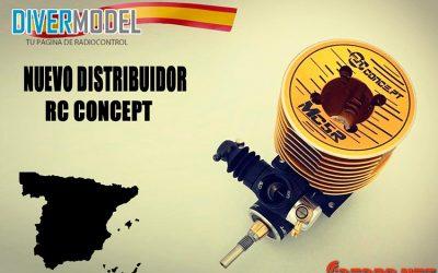 Divermodel, distribuidor para España de RC Concept