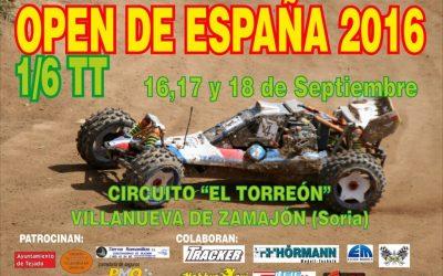 16 a 18 de Septiembre - Open de España 1/6 TT 2016